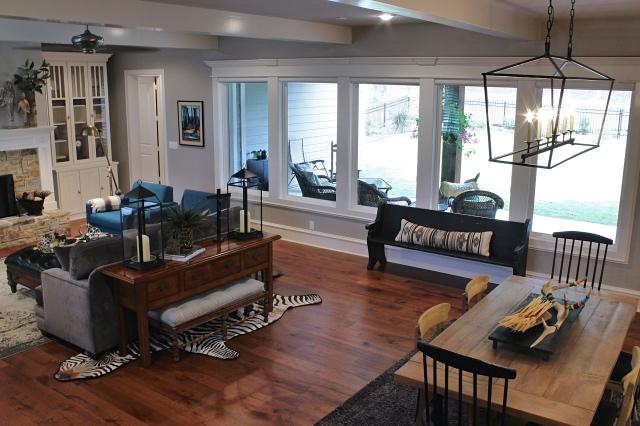 Texas home design and home decorating idea center living for Texas themed living room