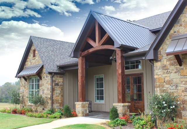 country-manor-beamed-entrance-metal-roofing Cedar Trim Exterior House Designs on cedar doors exterior, cedar column wraps exterior, cedar stains exterior, cedar shutters exterior, cedar siding exterior, cedar shingles exterior,