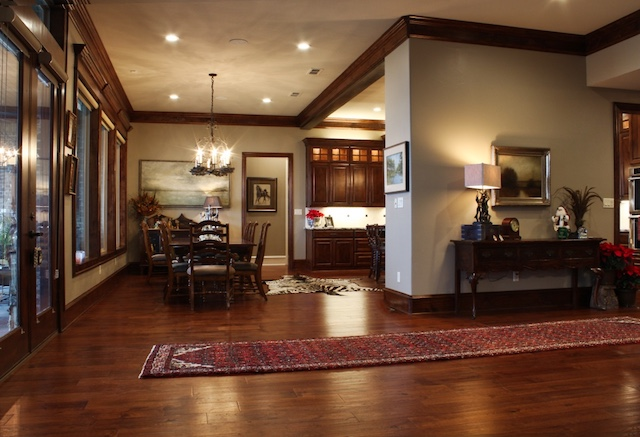Living Spaces And Open Floor Plan Designs ... A Few Ideas From Trent And  His Clients. Texas Home ...
