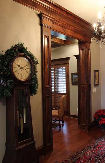 Elegant Entryway In Lakeside Home East Texas Near Tyler