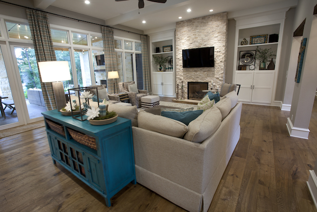 Texas Home Design And Home Decorating Idea Center Living Rooms Open Floor Plans Fireplaces
