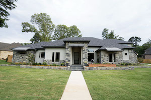 Urban modern style custom home by Trent Williams Construction