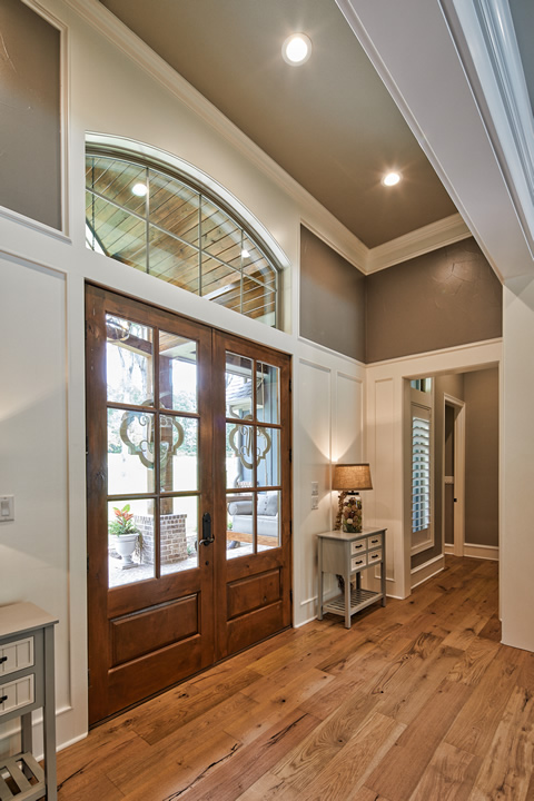 Small Custom Homes Texas Ranch Style Homes Custom Ranch Homes Design Interior Designs: Texas Home Design And Home Decorating Idea Center: Entry Spaces