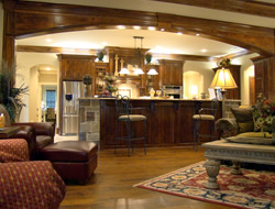 Cook's Ranch custom home by Trent Williams Construction, Tyler, Texas