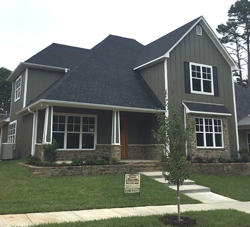 The Cottages in Charleston Park, Tyler, Texas, built by Trent Williams Construction Management