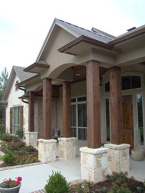 Texas home design and home decorating idea center for Limestone homes designs