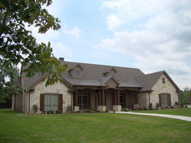 Texas home design and home decorating idea center for Big country style homes