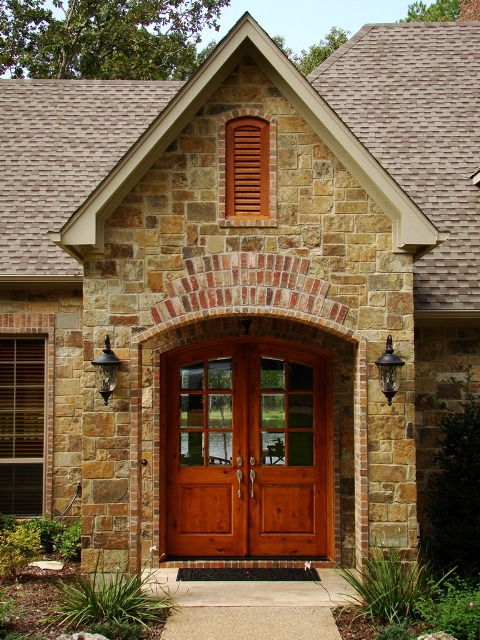 Texas Home Design And Home Decorating Idea Center: Exterior Custom Home  Design Ideas Part 51