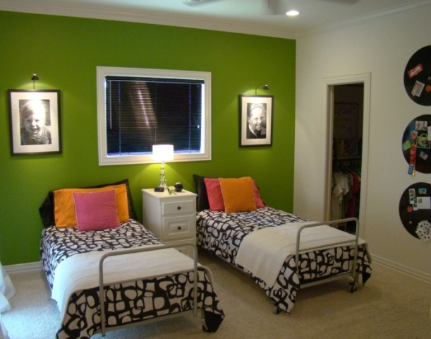 Bedrooms With Green Walls green walls in bedroom