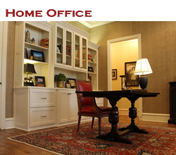 Home office design and decorating ideas ... from Trent Williams Construction, Tyler, Texas