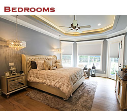 Custom bedroom design and decorating ideas ... from Trent Williams Construction, Tyler, Texas