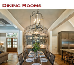 Custom dining room design and decorating ideas ... from Trent Williams Construction, Tyler, Texas