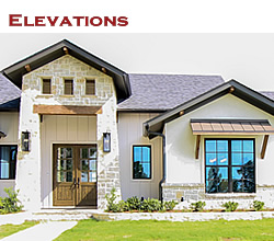 Ideas for Texas home elevations ... from Trent Williams Construction, Tyler, Texas