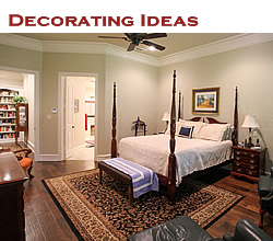 Decorating ideas in the Texas home ... from Trent Williams Construction, Tyler, Texas