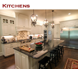 Custom kitchen design and decorating ideas ... from Trent Williams Construction, Tyler, Texas