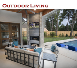 Outdoor living design and decorating ideas ... from Trent Williams Construction, Tyler, Texas