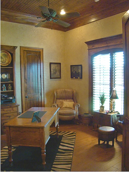 Home Office Study. Texas Home Ideas From Trent Williams Construction,  Tyler, Office Study