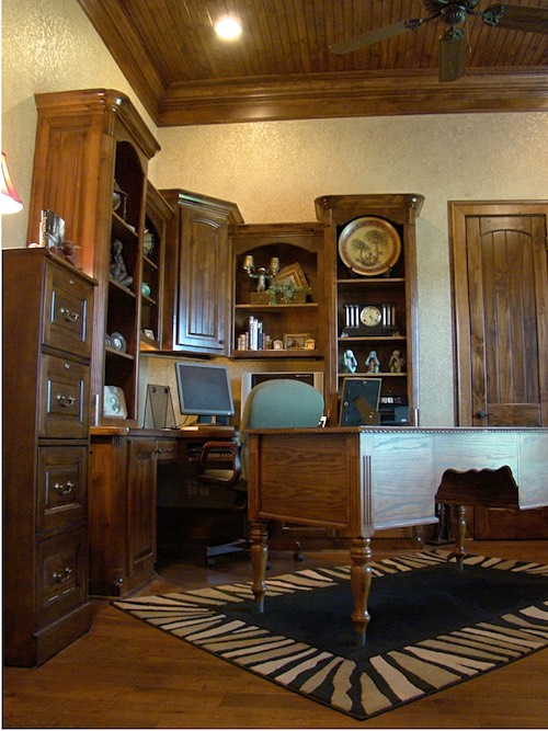Texas Home Design and Home Decorating Idea Center: Home Office ...