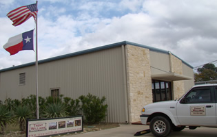 The offices of Trent Williams Construction Management, 3450 Shiloh Road, Tyler Texas